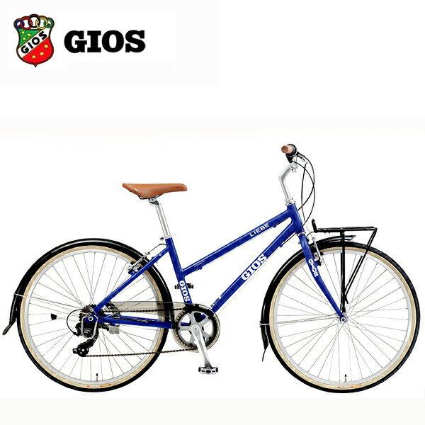 2019 GIOS ジオス LIEBE (リーベ) ジオス ブルー クロスバイク