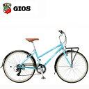 2019 GIOS ジオス LIEBE (リーベ) P ブルー クロスバイク