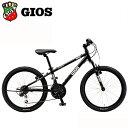 GIOS 子供 自転車 ジオス ジェノア 22 GIOS GENOVA 22インチ ブラック