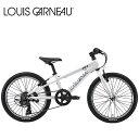ルイガノ 子供 自転車 LOUIS GARNEAU ルイガノ J20 LG White 20インチ キッズ