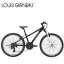 LOUIS GARNEAU ルイガノ J24 LG BLACK 24インチ キッズ 子供 自転車