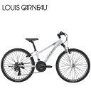 LOUIS GARNEAU ルイガノ J24 LG WHITE 24インチ キッズ 子供 自転車