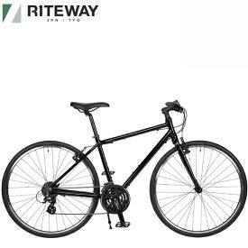 2021 ライトウェイ シェファード シティー RITEWAY SHEPHERD CITY グロスブラック 自転車 送料無料 クロスバイク