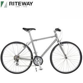 2021 ライトウェイ シェファード シティー RITEWAY SHEPHERD CITY グロスチタンシルバー 自転車 送料無料 クロスバイク