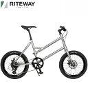 2021 ライトウェイ グレイシア RITEWAY GLACIER マットグレー 自転車/ミニベロ