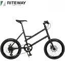 2021 ライトウェイ グレイシア RITEWAY GLACIER マットブラック 自転車/ミニベロ