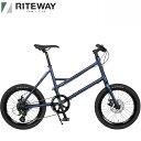 2021 ライトウェイ グレイシア RITEWAY GLACIER マットネイビー 自転車/ミニベロ