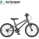 RITEWAY ライトウェイ 子供用 自転車 ZIT 16 ジット 16 ブラック 9917831 16インチ