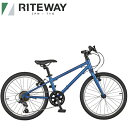 RITEWAY ライトウェイ 子供用 自転車 ZIT 20 ジット 20 ネイビー 9918054 108-130cm 20インチ