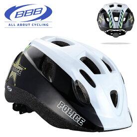 BBB 子供 ヘルメット BOOGY ブーギー ポリス BHE-37