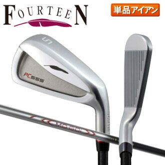 Fourteen golf PC-555 iron one piece of article MD-60i carbon shaft Fourteen PC555
