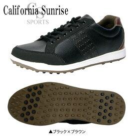 【送料無料】 朝日ゴルフ カリフォルニア サンライズ CSSH-3611 スパイクレス ゴルフシューズ ブラック×ブラウン ASAHI California Sunrize【朝日ゴルフ】【ゴルフシューズ】【CSSH-3611】【スパイクレス】【あす楽対応】