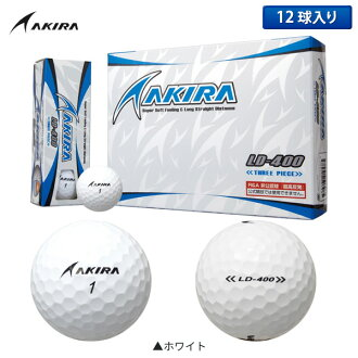 Akira golf AKIRA LD-400 golf ball white