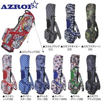 azurofugorufu AZ-STCB01台灯高尔夫球场服务员包AZROF高尔夫球袋