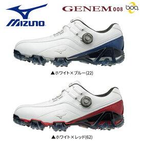 【幅3E】 ミズノ ゴルフ ジェネム 008 ボア 51GM1800 ゴルフシューズ MIZUNO GENEM Boa【ジェネム008ゴルフシューズ】【あす楽対応】