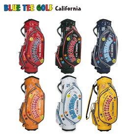 ブルーティーゴルフ エナメル CB-005 カート キャディバッグ Blue Tee Golf ゴルフバッグ CB005【あす楽対応】