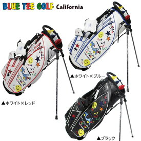 ブルーティーゴルフ スマイル&カート CB-008 スタンド キャディバッグ BlueTee Golf ゴルフバッグ【あす楽対応】