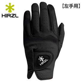 【左手用】 ハーツェル ゴルフ トラスト ハイブリッド プラス ゴルフグローブ ブラック HIRZL TRUST HYBRID Plus【その他】