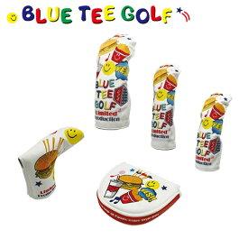 ブルーティー ゴルフ スマイルバーガー リミテッド エディション ヘッドカバー BLUE TEE GOLF ホワイト Limited Production【ヘッドカバー】