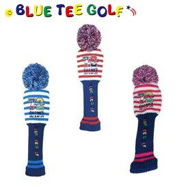 ブルーティー ゴルフ パー72 HC003 ゴルフデイス ボーダーニット ヘッドカバー BLUETEE【ブルーティー】【ヘッドカバー】