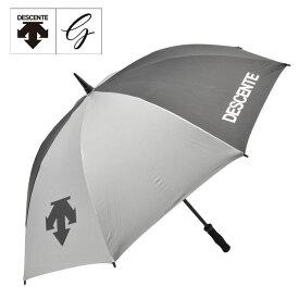 デサント ゴルフ DQBNJX00 全天候 傘 シルバー アンブレラ 銀傘 銀パラソル【デサント】【傘】【あす楽対応】