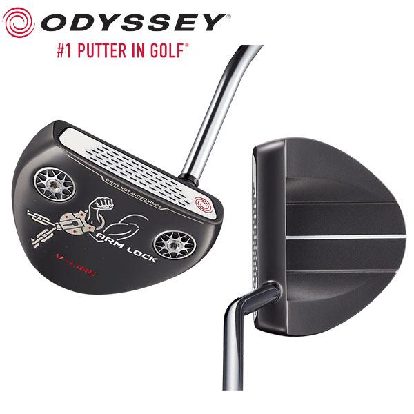 オデッセイ ゴルフ アームロック式 Vライン パター ODYSSEY ARMLOCK V-LINE 中尺【アームロック式パター】【あす楽対応】