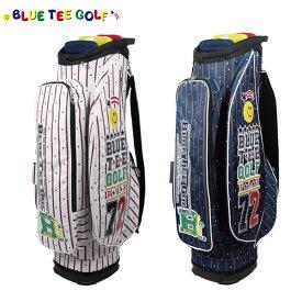 ブルーティーゴルフ ストライプ ナイロン CB-007 カート キャディバッグ BLUE TEE GOLF ゴルフバッグ【ブルーティーゴルフ】【キャディバッグ】