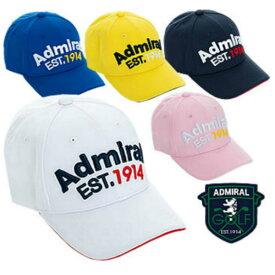 [土日祝も出荷可能]【送料無料】 アドミラル ゴルフ ADMB902F カノコ キャップ admiral【あす楽対応】