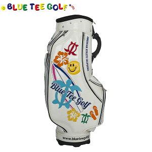 ブルーティー ゴルフ アロハオンザビーチ BTG-CB009 カート キャディバッグ BlueTee Golf ALOHA on the Beach ゴルフバッグ【ブルーティー】【キャディバッグ】