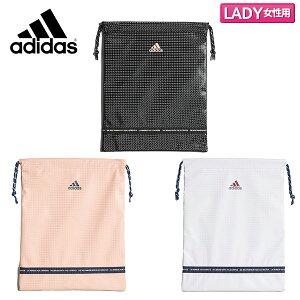 【レディース】 アディダス ゴルフ CL6529 ウィメンズ テープデザイン シューズケース ブラック,ピンク,ホワイト adidas TAPE DESIGN SHOE CASE