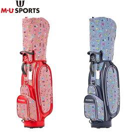 M・Uスポーツ ゴルフ 703P6110 カート キャディバッグ M・U SPORTS ゴルフバッグ
