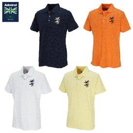 [土日祝も出荷可能]【送料無料】 アドミラル ゴルフ ADMA050 ツリーパイル ポロシャツ ネイビー(NVY),オレンジ(ORG),ホワイト(WHT),イエロー(YEL) Admiral【アドミラル】【ポロシャツ】【あす楽対応】