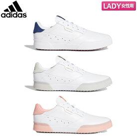 【レディース/送料無料】 アディダス ゴルフ アディクロス レトロ IB368 ウィメンズ スパイクレス ゴルフシューズ adidas