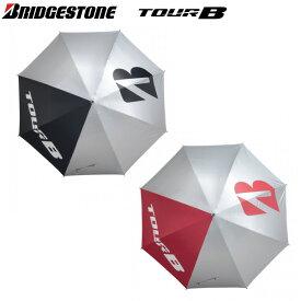ブリヂストン ゴルフ ツアーB UMG02 ジャンプ式 銀傘 ゴルフ用傘 ブラック,レッド BRIDGESTONE TOUR B 晴雨兼用 アンブレラ
