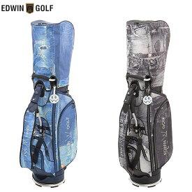 [最大1500円クーポン23日迄]エドウィン ゴルフ EDWIN-044 キャディバッグ EDWIN GOLF【エドウィン】【キャディバッグ】