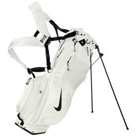 ナイキ ゴルフ スポーツライト GF3003 スタンド キャディバッグ ホワイト×ブラック(101) NIKE ゴルフバッグ【あす楽対応】