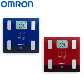 オムロン 体重体組成計 HBF-226 カラダスキャン 健康器具 ダークブルー,レッド OMRON