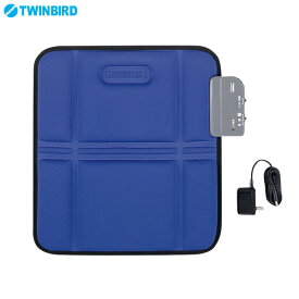 ツインバード シートマッサージャーS EM-2535BL 健康器具 ブルー TWINBIRD
