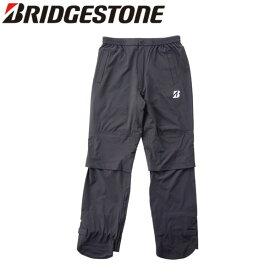 ブリヂストン ゴルフ 水神 81G02 レインパンツ パンツのみ レインウェア ブラック BRIDGESTONE