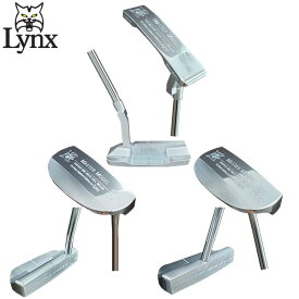 [土日祝も出荷可能]リンクス ゴルフ マスターモデル XI ピン型・マレット型 パター Lynx Master Model インゴット SUS303 ソフトステンレス【あす楽対応】