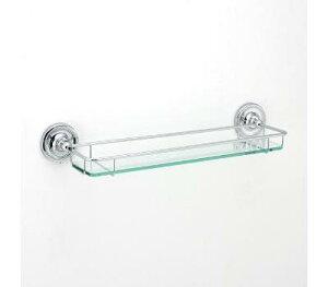 ガラスシェルフWW PB CR