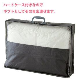 ベビー羽毛布団90×120cmホワイトダックダウン85%2重ガーゼカバー付(フルール)