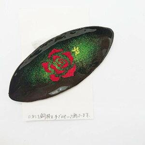 七宝焼き アクセサリー バラ 薔薇 rose 七宝焼 工芸 ハンドメイド 大人可愛い 手作り ブローチ バッチ あとりえしっぽう 七宝 スーパーセール 小皿 小物入れ