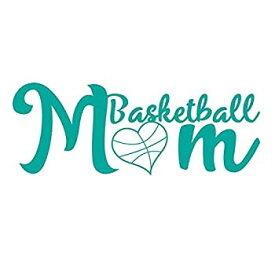 【中古】【輸入品・未使用未開封】CMI nd002t Basketball Momデカールステッカー| 7-inches by 2.6-inches |プレミアム品質Tealビニール