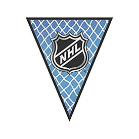 【中古】【輸入品・未使用未開封】NHL Ice Time Collection Pennant Banner Party Decoration