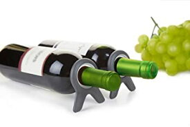 【中古】【輸入品・未使用未開封】Quirky Vine Wine Bottle Stabilizer and Storage Stand (Set of 2) by Quirky