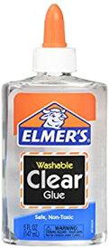 【中古】【輸入品・未使用未開封】(2 Pack Clear) - Elmer's E305 Washable School Glue 150ml Bottle 2 Pack Clear