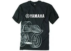 【中古】【輸入品・未使用未開封】Factory Effex 16-88280 'YAMAHA' R1 Tシャツ(ブラック、M)