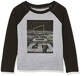 【中古】【輸入品・未使用未開封】Under Armour ボーイズ グラフィック 長袖Tシャツ US サイズ: 4 カラー: グレイ