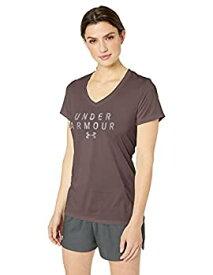 【中古】【輸入品・未使用未開封】Under Armour レディース テック半袖グラフィックTシャツ X-Small グレイ